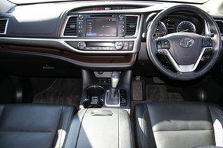 2017 Toyota Kluger GSU55R Grande AWD Silver Storm 8 Speed Sports Automatic Wagon