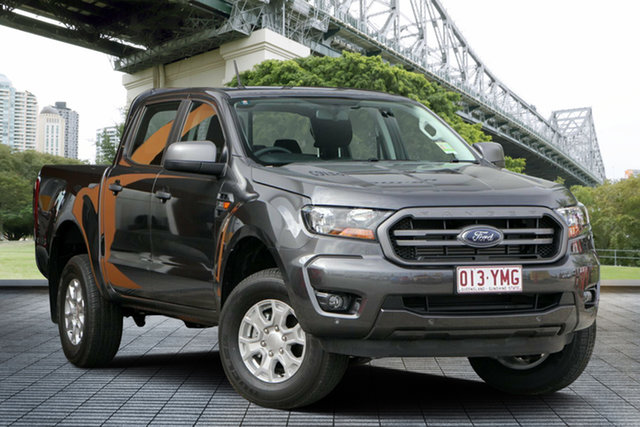 Used Ford Ranger PX MkIII 2019.00MY XLS Pick-up Double Cab, 2018 Ford Ranger PX MkIII 2019.00MY XLS Pick-up Double Cab Grey 6 Speed Sports Automatic Utility