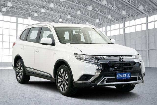 Used Mitsubishi Outlander ZL MY18.5 ES 2WD, 2018 Mitsubishi Outlander ZL MY18.5 ES 2WD White 6 Speed Constant Variable Wagon