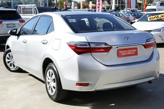 2017 Toyota Corolla ZRE172R Ascent Silver 7 Speed CVT Auto Sequential Sedan.