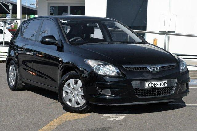 Used Hyundai i30 FD MY11 SX, 2011 Hyundai i30 FD MY11 SX Black 4 Speed Automatic Hatchback