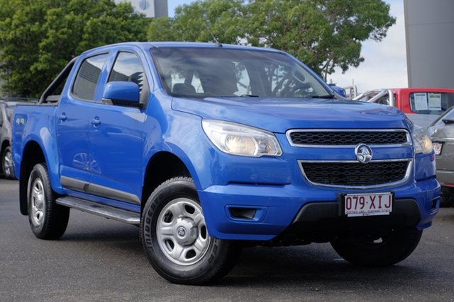 Used Holden Colorado RG MY16 LS Crew Cab, 2015 Holden Colorado RG MY16 LS Crew Cab Blue 6 Speed Sports Automatic Utility