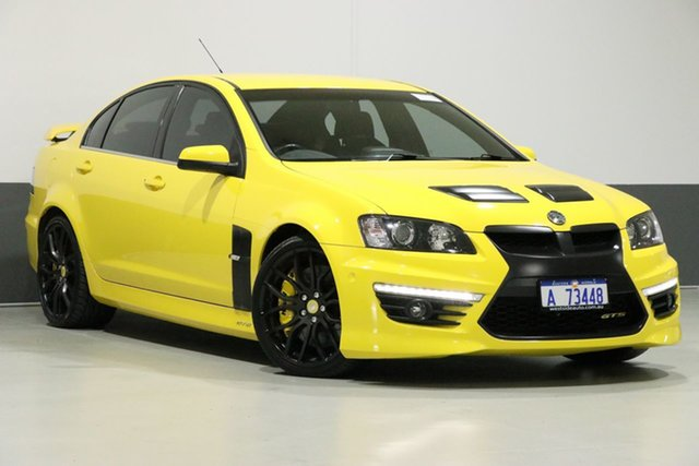 Used Holden Special Vehicles GTS E3 MY12.5 25th Anniversary, 2012 Holden Special Vehicles GTS E3 MY12.5 25th Anniversary Yellow 6 Speed Manual Sedan