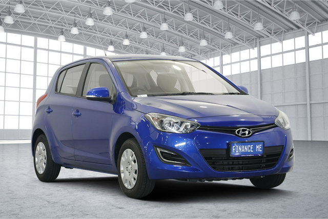 Used Hyundai i20 PB MY14 Active, 2014 Hyundai i20 PB MY14 Active Blue 4 Speed Automatic Hatchback