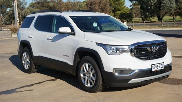 Demo Holden Acadia AC MY19 LT 2WD, 2018 Holden Acadia AC MY19 LT 2WD Summit White 9 Speed Sports Automatic Wagon