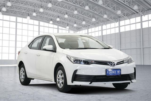 Used Toyota Corolla ZRE172R Ascent S-CVT, 2017 Toyota Corolla ZRE172R Ascent S-CVT White 7 Speed Constant Variable Sedan