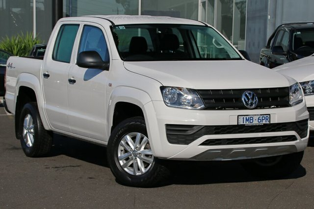 Used Volkswagen Amarok 2H MY18 TDI420 4MOTION Perm Core, 2018 Volkswagen Amarok 2H MY18 TDI420 4MOTION Perm Core White 8 Speed Automatic Utility