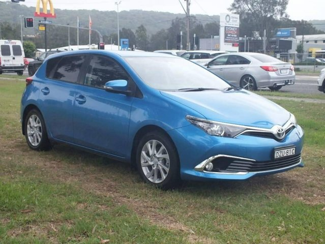 Used Toyota Corolla ZRE182R Ascent Sport S-CVT, 2017 Toyota Corolla ZRE182R Ascent Sport S-CVT Blue 7 Speed Constant Variable Hatchback
