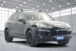 2014 Porsche Cayenne 92A MY14 Diesel Tiptronic Black 8 Speed Sports Automatic Wagon.