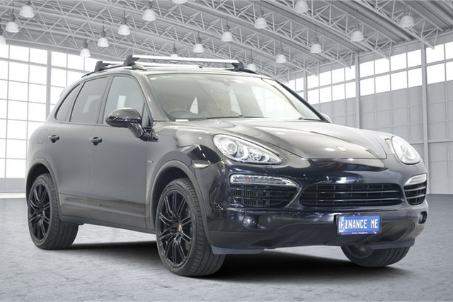 Used Porsche Cayenne 92A MY14 Diesel Tiptronic, 2014 Porsche Cayenne 92A MY14 Diesel Tiptronic Black 8 Speed Sports Automatic Wagon