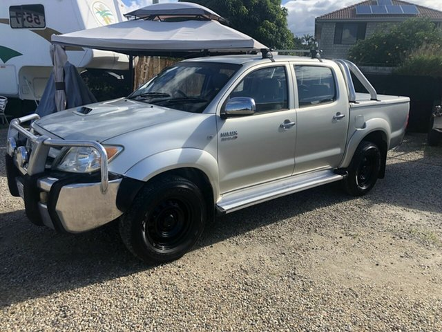 Used Toyota Hilux KUN26R MY05 , 2005 Toyota Hilux KUN26R MY05 SR 3.0 T/Diesel Gold 5 Speed Manual Dual Cab