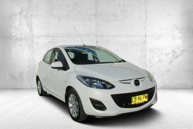 Used Mazda 2 DE10Y2 MY14 Neo Sport, 2014 Mazda 2 DE10Y2 MY14 Neo Sport White 4 Speed Automatic Hatchback
