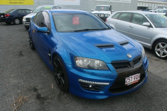 Used Holden Special Vehicles GTS E Series 2 , 2009 Holden Special Vehicles GTS E Series 2 Blue 6 Speed Manual Sedan