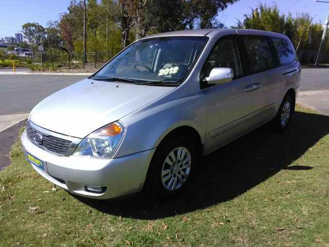 Used Kia Grand Carnival VQ MY12 SLi Southport, 2012 Kia Grand Carnival VQ MY12 SLi 6 Speed Automatic Wagon