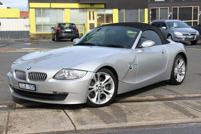 Used BMW Z4 E85 MY06 Steptronic, 2006 BMW Z4 E85 MY06 Steptronic Silver 6 Speed Sports Automatic Roadster