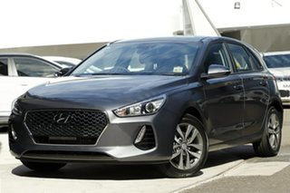 2019 Hyundai i30 PD2 MY19 Active Iron Gray 6 Speed Manual Hatchback.