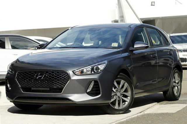New Hyundai i30 PD2 MY19 Active, 2019 Hyundai i30 PD2 MY19 Active Iron Gray 6 Speed Sports Automatic Hatchback