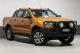 2016 Ford Ranger PX MkII Wildtrak 3.2 (4x4) Orange 6 Speed Automatic Dual Cab Pick-up.