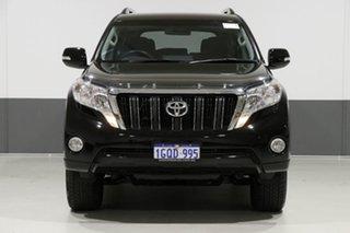 2015 Toyota Landcruiser Prado KDJ150R MY14 GXL (4x4) Black 5 Speed Sequential Auto Wagon.