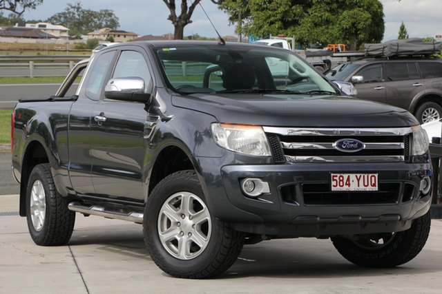 Used Ford Ranger PX XLT Super Cab, 2013 Ford Ranger PX XLT Super Cab Grey 6 Speed Sports Automatic Utility