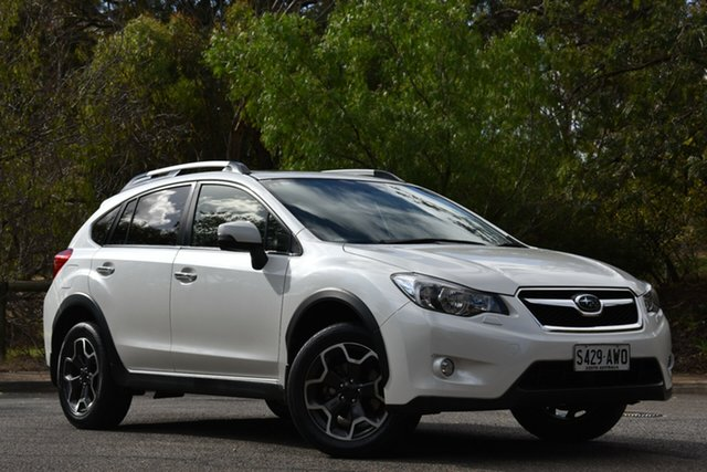 Used Subaru XV G4X MY13 2.0i-S Lineartronic AWD, 2013 Subaru XV G4X MY13 2.0i-S Lineartronic AWD White 6 Speed Constant Variable Wagon