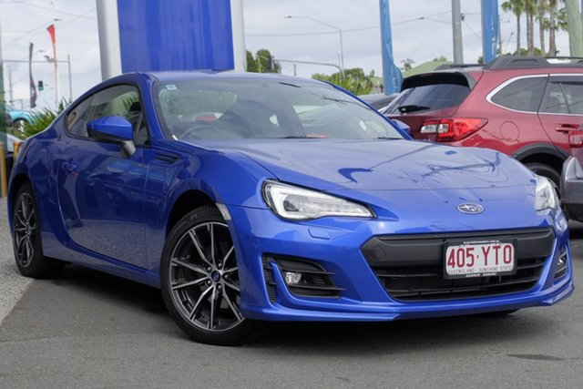 Demo Subaru BRZ Z1 MY18 Premium, 2018 Subaru BRZ Z1 MY18 Premium Blue 6 Speed Sports Automatic Coupe