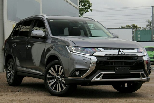 New Mitsubishi Outlander ZL MY19 Exceed, 2019 Mitsubishi Outlander ZL MY19 Exceed Titanium 6 Speed Automatic
