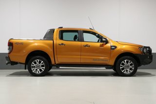2016 Ford Ranger PX MkII Wildtrak 3.2 (4x4) Orange 6 Speed Automatic Dual Cab Pick-up