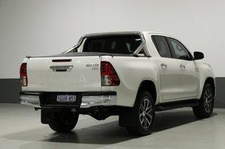 2016 Toyota Hilux GUN126R SR5 (4x4) Pearl White 6 Speed Automatic Dual Cab Utility