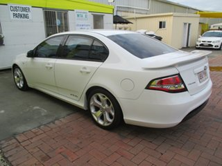 2011 Ford Falcon FG MkII XR6 Turbo White 6 Speed Sports Automatic Sedan.