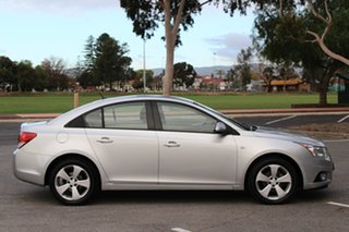 2013 Holden Cruze JH Series II MY13 Equipe Silver 6 Speed Sports Automatic Sedan