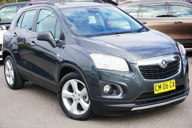 Used Holden Trax TJ MY16 LTZ, 2016 Holden Trax TJ MY16 LTZ Grey 6 Speed Automatic Wagon