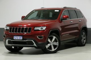 2015 Jeep Grand Cherokee WK MY15 Limited (4x4) Red 8 Speed Automatic Wagon.