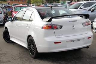 2017 Mitsubishi Lancer CF MY17 Black Edition Starlight 6 Speed Constant Variable Sedan.