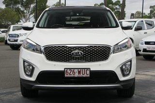 2016 Kia Sorento UM MY16 Platinum AWD White 6 Speed Sports Automatic Wagon
