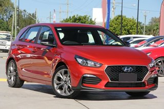 2019 Hyundai i30 PD.3 MY19 N Line D-CT Lava Orange 7 Speed Sports Automatic Dual Clutch Hatchback.