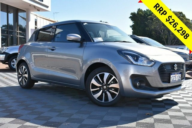 Demo Suzuki Swift AZ GLX Turbo, 2019 Suzuki Swift AZ GLX Turbo Premium Silver 6 Speed Sports Automatic Hatchback