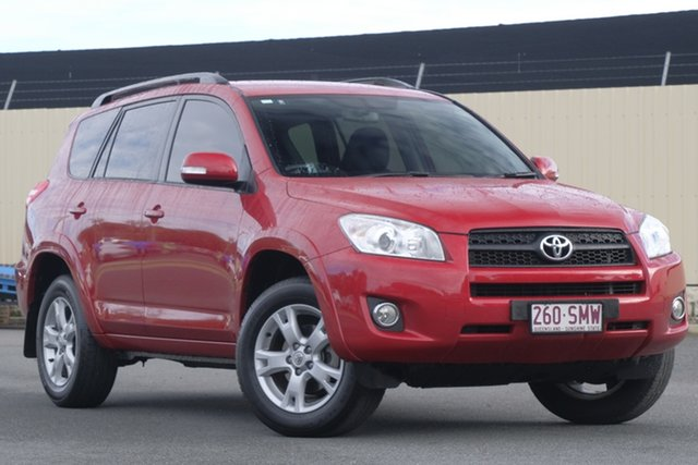 Used Toyota RAV4 ACA33R MY12 Cruiser, 2012 Toyota RAV4 ACA33R MY12 Cruiser Red 4 Speed Automatic Wagon