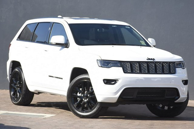 New Jeep Grand Cherokee WK MY20 Night Eagle, 2020 Jeep Grand Cherokee WK MY20 Night Eagle Bright White 8 Speed Sports Automatic Wagon