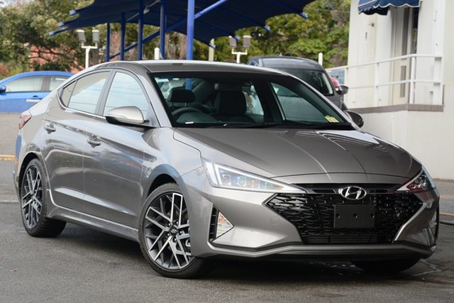 New Hyundai Elantra AD.2 MY19 Sport DCT, 2019 Hyundai Elantra AD.2 MY19 Sport DCT Fluidic Metal 7 Speed Sports Aut Sedan