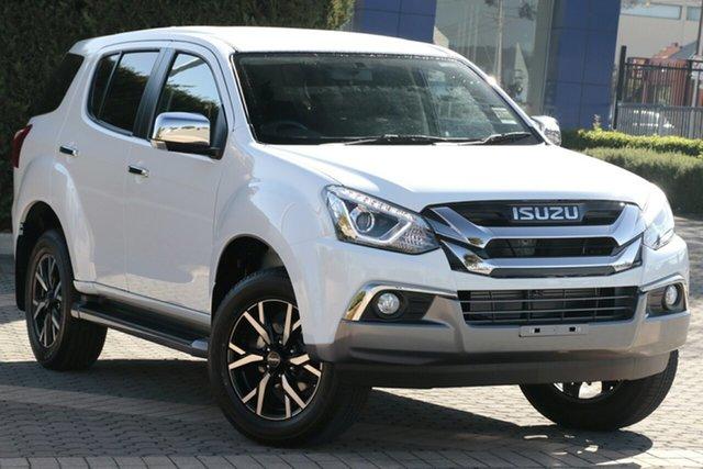 New Isuzu MU-X MY19 LS-U Rev-Tronic, 2020 Isuzu MU-X MY19 LS-U Rev-Tronic Splash White 6 Speed Sports Automatic Wagon