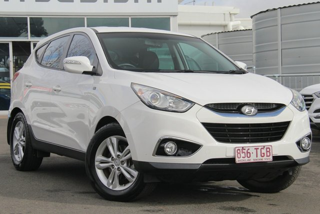 Used Hyundai ix35 LM2 SE AWD, 2013 Hyundai ix35 LM2 SE AWD Creamy White 6 Speed Sports Automatic Wagon