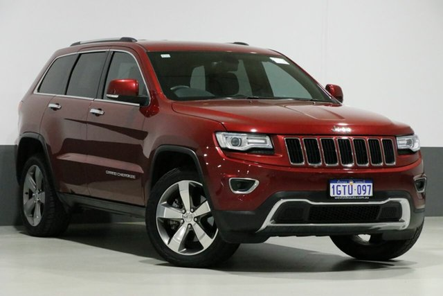 Used Jeep Grand Cherokee WK MY15 Limited (4x4), 2015 Jeep Grand Cherokee WK MY15 Limited (4x4) Red 8 Speed Automatic Wagon