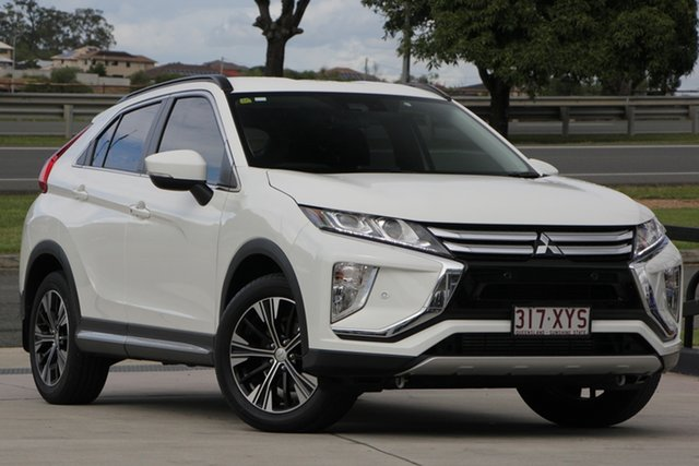 Used Mitsubishi Eclipse Cross YA MY19 LS 2WD, 2018 Mitsubishi Eclipse Cross YA MY19 LS 2WD White 8 Speed Constant Variable Wagon