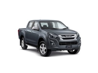 2019 Isuzu D-MAX MY19 LS-U Crew Cab Obsidian Grey 6 Speed Sports Automatic Utility