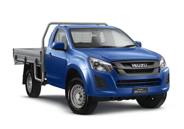 New Isuzu D-MAX MY18 SX 4x2 High Ride, 2018 Isuzu D-MAX MY18 SX 4x2 High Ride Cobalt Blue 6 Speed Sports Automatic Cab Chassis