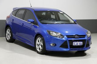 2013 Ford Focus LW MK2 Sport Blue 6 Speed Automatic Hatchback
