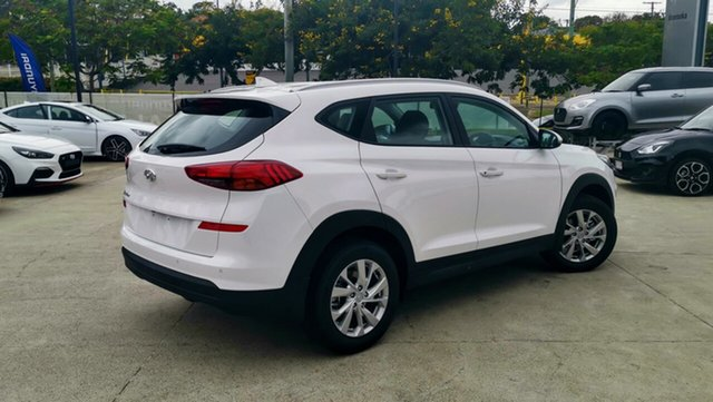 Demo Hyundai Tucson TL3 MY19 Active X 2WD, 2019 Hyundai Tucson TL3 MY19 Active X 2WD Pure White 6 Speed Automatic Wagon