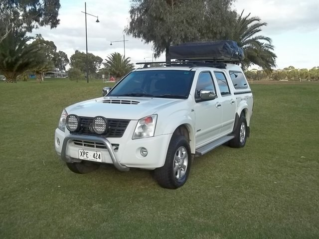 Used Holden Rodeo RA MY07 LTZ Crew Cab, 2007 Holden Rodeo RA MY07 LTZ Crew Cab White 4 Speed Automatic Utility