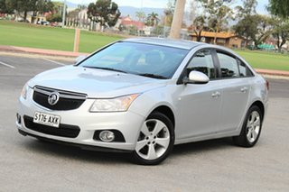 2013 Holden Cruze JH Series II MY13 Equipe Silver 6 Speed Sports Automatic Sedan.